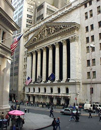 Wall Street and the New York Stock Exchange